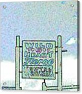 Wild At Heart Acrylic Print
