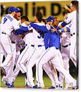 Wild Card Game - Oakland Athletics V Acrylic Print