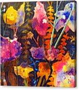 Wild Cottage Garden Acrylic Print