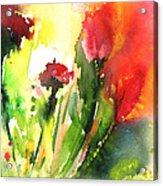 Wild Flowers 09 Acrylic Print