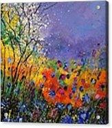 Wild Flowers 4110 Acrylic Print