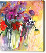 Wild Flowers Bouquets 02 Acrylic Print