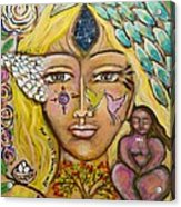 Wild Goddess Acrylic Print