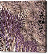 Wild Grasses Blowing In The Breeze  Acrylic Print