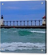 Wild In Saint Joe's Acrylic Print by John Absher