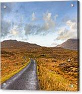 Wild Landscape Of Connemara Ireland Acrylic Print
