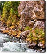 Wild Mountain River Acrylic Print