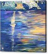 Wild Pond Reflections Acrylic Print