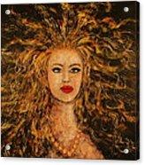 Wild Tigress Acrylic Print
