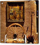 Wild West T-shirts - Old Town New Mexico Acrylic Print by David Patterson