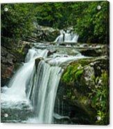 Wildcat Falls In Joyce Kilmer Wilderness Acrylic Print