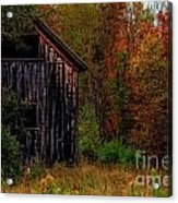 Wilderness Barn Acrylic Print