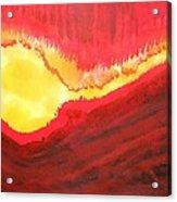 Wildfire Original Painting Acrylic Print