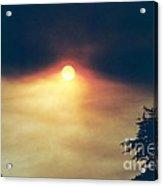 Wildfire Smoky Sky Acrylic Print