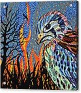 Wildflire Acrylic Print