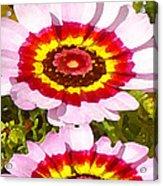 Wildflowers Tall Acrylic Print