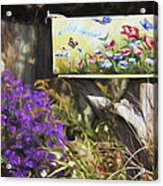 Wildlife's Mailbox Acrylic Print