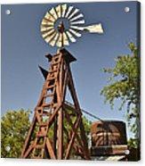 Wildseed Farms Windmill Acrylic Print