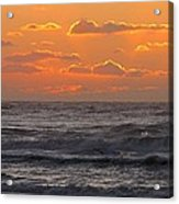 Wildwood Beach Just Before Dawn Acrylic Print