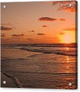 Wildwood Beach Sunrise II Acrylic Print