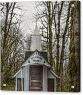 Wildwood Chapel Acrylic Print