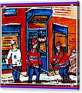 Wilenskys Hockey Art Posters Prints Cards Originals Commission Montreal Paintings Contact C Spandau Acrylic Print