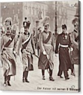 Wilhelm II & Sons Acrylic Print