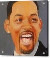 Will Smith Acrylic Print by Shirl Theis