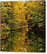 Willett Autumn Reflections Acrylic Print