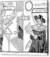 William Abell (c1584-1655) Acrylic Print