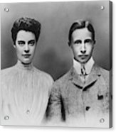 William And Cecilie, C1905 Acrylic Print