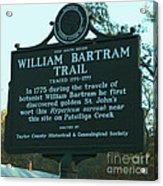 William Bartram Acrylic Print