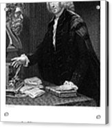William Cullen (1710-1790) Acrylic Print by Granger