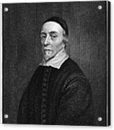 William Harvey (1578-1657) Acrylic Print