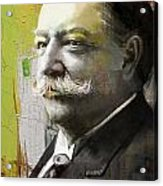 William Howard Taft Acrylic Print by Corporate Art Task Force