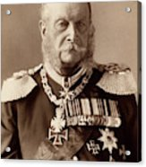William I Of Prussia (1797-1888) Acrylic Print