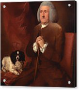 William Lowndes - A Auditor Of His Majesty's Court Of Exchequer  Acrylic Print