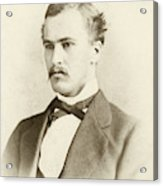 William Osler As A Medical Student Acrylic Print