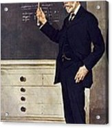 William Ramsay, Scottish Chemist Acrylic Print by Science Photo Library