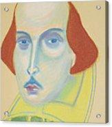 William Shakespeare Acrylic Print
