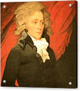 William Vans Murray By Mather Brown Acrylic Print
