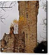 William Wallace Monument Scotland Acrylic Print