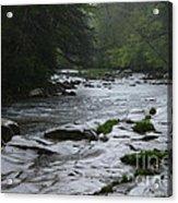 Williams River Rain Downpour Acrylic Print