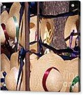 Williamsberg Hats Acrylic Print