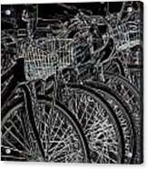 Williamsburg Bikes Acrylic Print