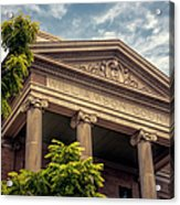 Williamson County Courthouse Acrylic Print