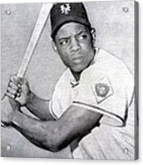 Willie Mays  Poster Acrylic Print