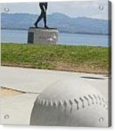 Willie Mccovey -- Giants 2014 World Champs Acrylic Print