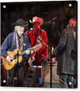 Willie Nelson - Live In Austin Acrylic Print