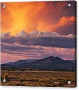 Willow Flats Sunset Acrylic Print